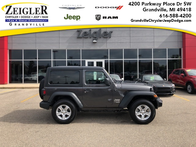 Certified Pre-Owned 2019 Jeep Wrangler Sport