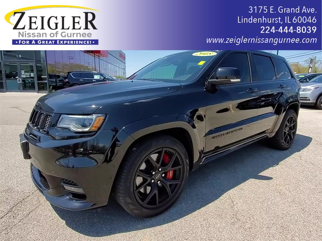 Pre-Owned 2018 Jeep Grand Cherokee SRT
