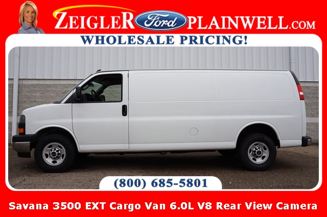 Pre-Owned 2018 GMC Savana 3500 Work Van