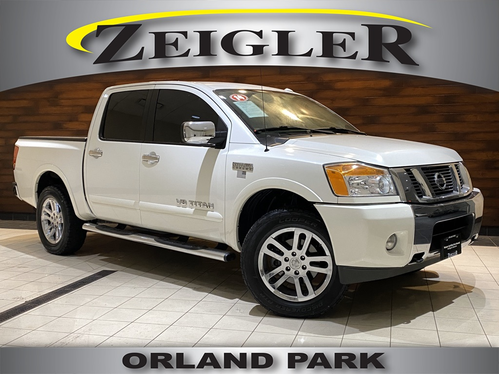 Pre-Owned 2014 Nissan Titan SL