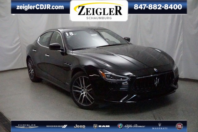 Pre-Owned 2018 Maserati Ghibli S Q4 GranSport